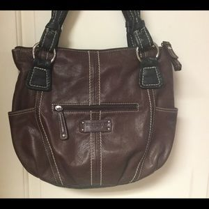 LNWOT Tignanello Leather Bag FIRM